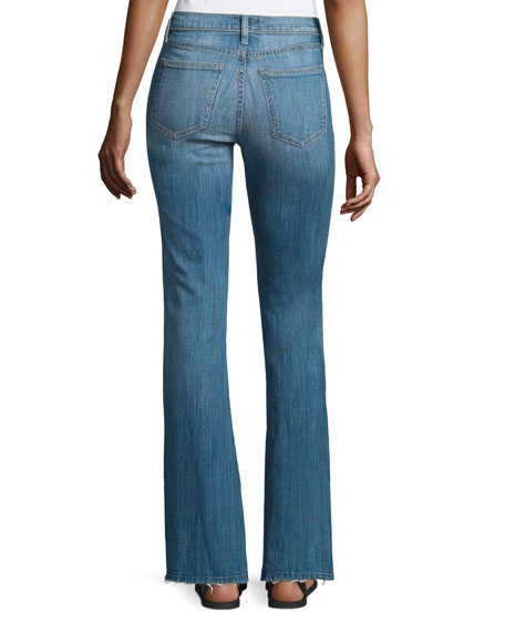 The High Rise Low Bell Jeans, Blue Ocean