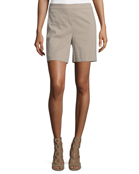 Theory Harsbie Crunch Washed Shorts