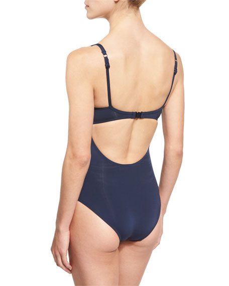Illuminate Crisscross Cutout One-Piece Swimsuit