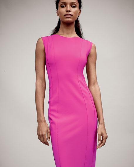 Marley Sleeveless Sheath Dress, Lotus