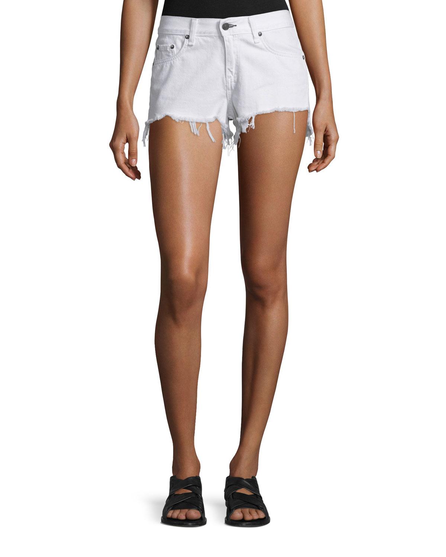 8296e51754b rag   bone JEAN Cutoff Denim Shorts