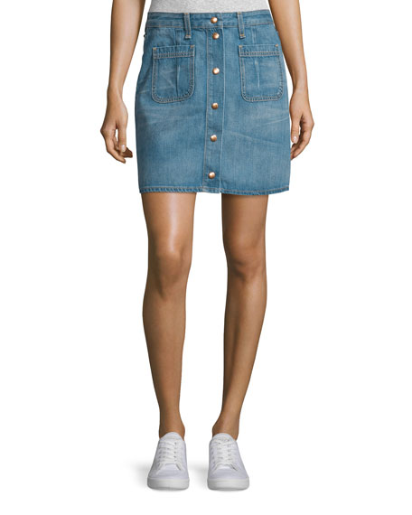 rag & bone/JEAN Malibu Linen V-Neck T-Shirt &