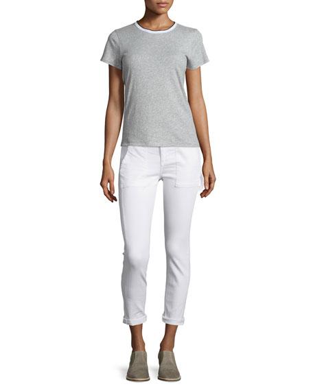 Carpenter Dre Jeans, Aged Bright White