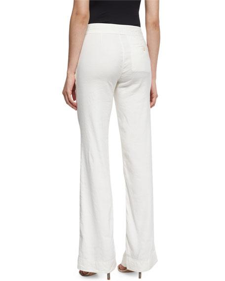 Starboard Wide-Leg Linen Pants