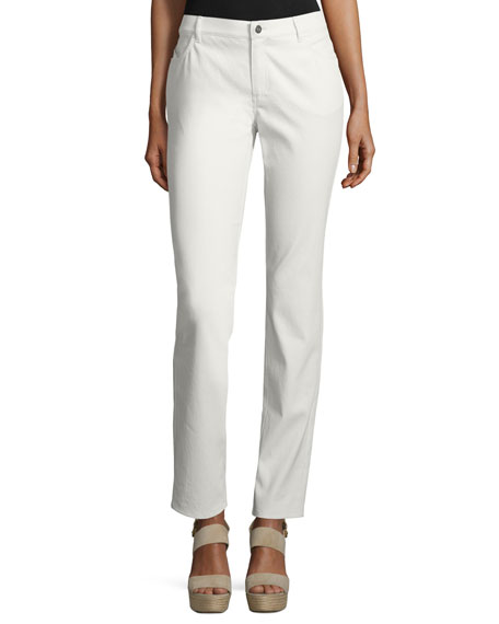 Lafayette 148 New York Thompson Curvy Slim-Leg Jeans,