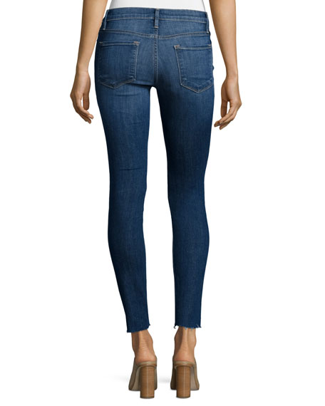 Image 2 of 3: Le Skinny Distressed Jeans, Park Jefferson