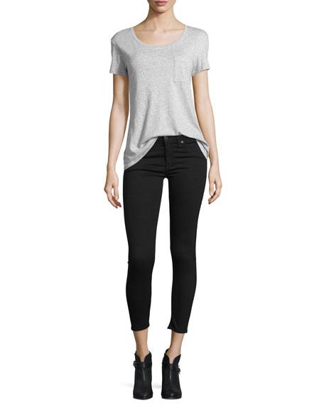 Nero Capri Denim Jeans, Black