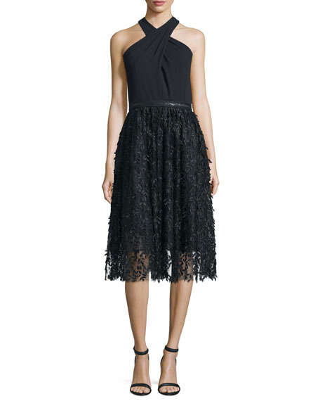 Carmen Marc ValvoHalter Fit & Flare Lace Combo