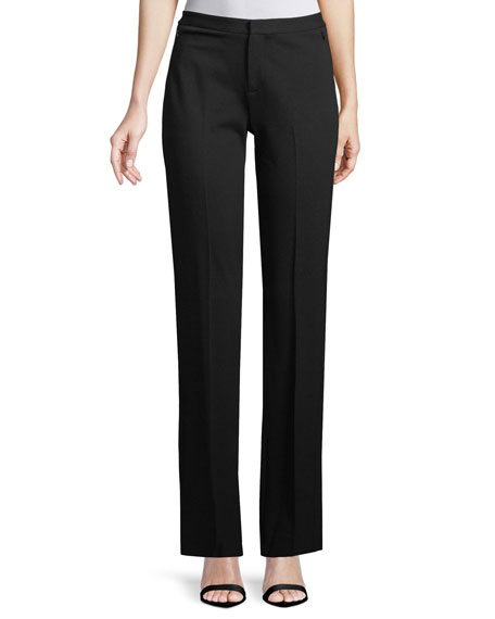 Kobi Halperin Riley Plant Fashion Slim Trousers, Black