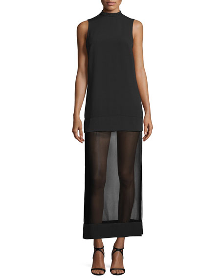 Keepsake Northern Lights Sleeveless Maxi Dress, Black