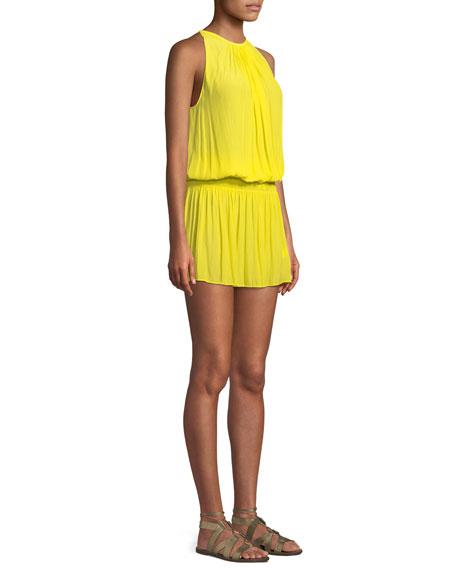 Paris Sleeveless Blouson Dress