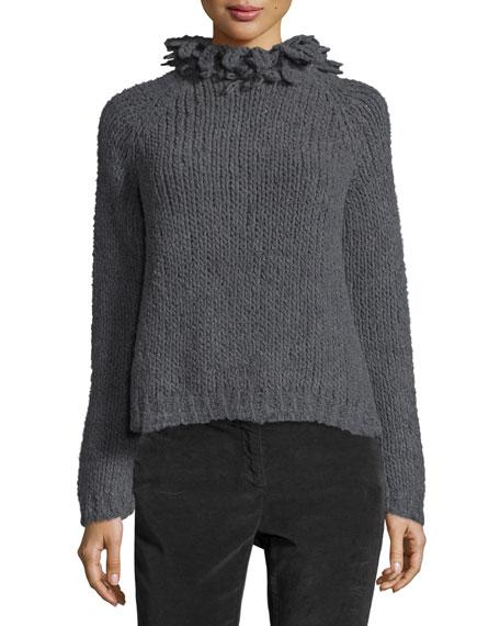 Brunello CucinelliNubby & Precious Turtleneck Cashmere Sweater,