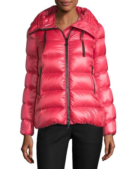 Serinde Hooded Short Puffer Jacket