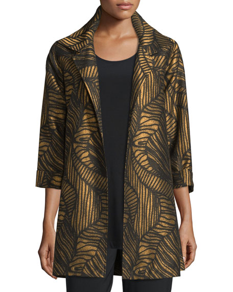 Caroline Rose Waves Party Jacket, Knit Tunic/Tank &