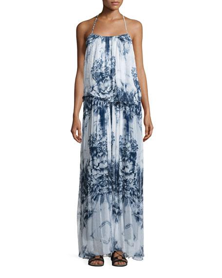Tryb Mariah Floral-Print Maxi Dress, Malibu Print