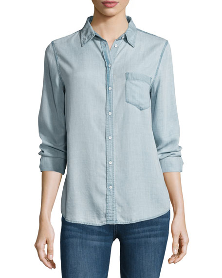 DL1961 Premium Denim Mercer & Spring Chambray Shirt,