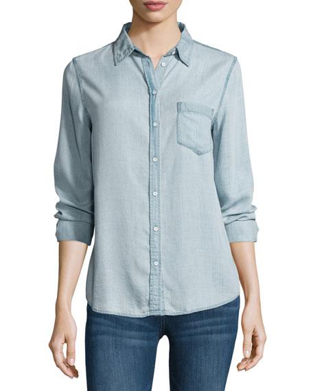 DL1961 Premium Denim Mercer & Spring Chambray Shirt,