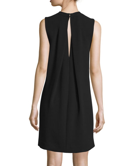 Vince Sleeveless Shift Dress, Black