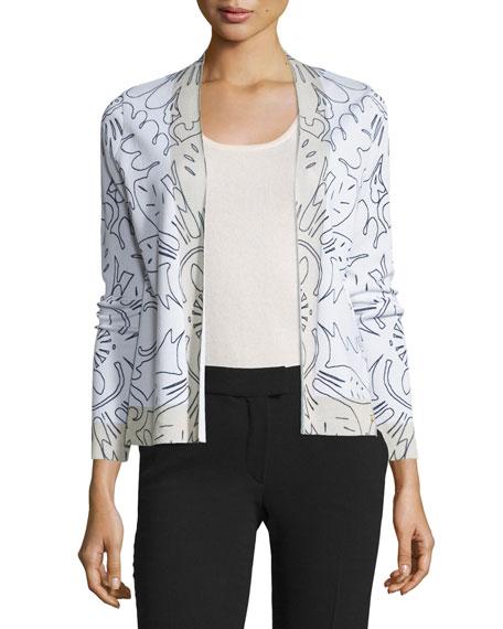 Long-Sleeve Printed Jacket, Fantasy