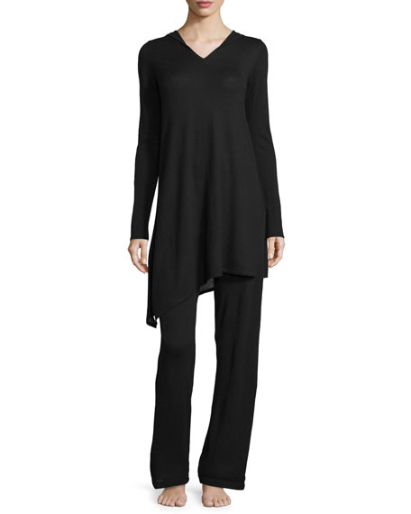 Neiman Marcus Cashmere CollectionCashmere Hooded Sweater & Pant