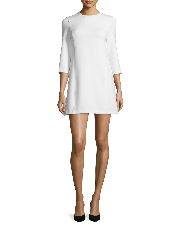 6561718e7f1 Alice + Olivia Gem 3 4-Sleeve Ponte Shift Dress