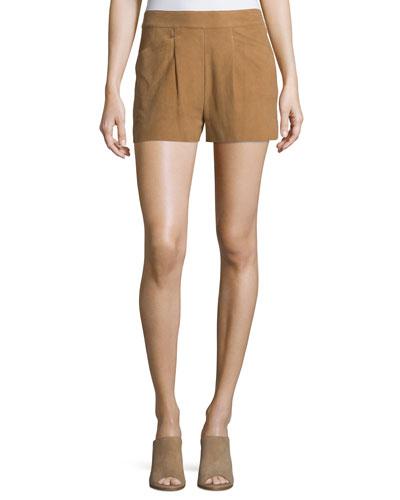 Lautaro Suede Shorts