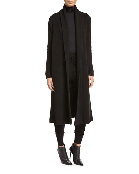 DKNY Cashmere-Blend Maxi Cardigan, Jersey Turtleneck Bodysuit ...
