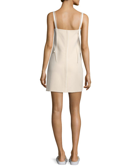 Sleeveless Ponte Shift Dress