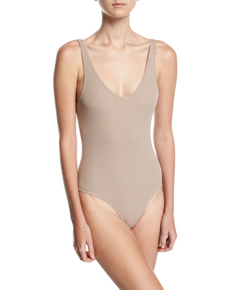 V-Neck Tank Bodysuit