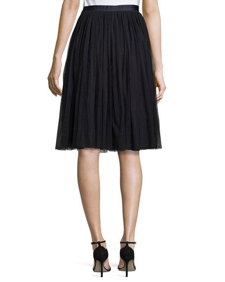 Tulle Maxi Skirt, Midnight