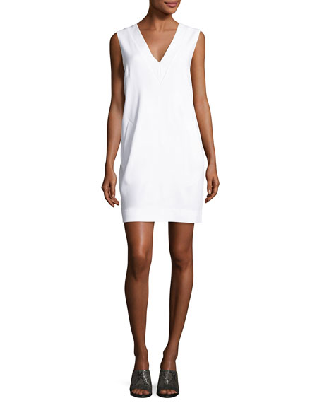 Rag & Bone Phoebe Sleeveless Ponte Sheath Dress,