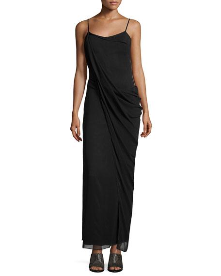 Rag & BoneIrina Sleeveless Stretch Chiffon Maxi Dress,