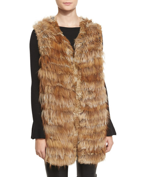 Alice + Olivia Joss Fox & Rabbit Fur
