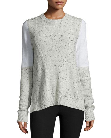 Rag & Bone Tamara Melange Cashmere Pullover Sweater,