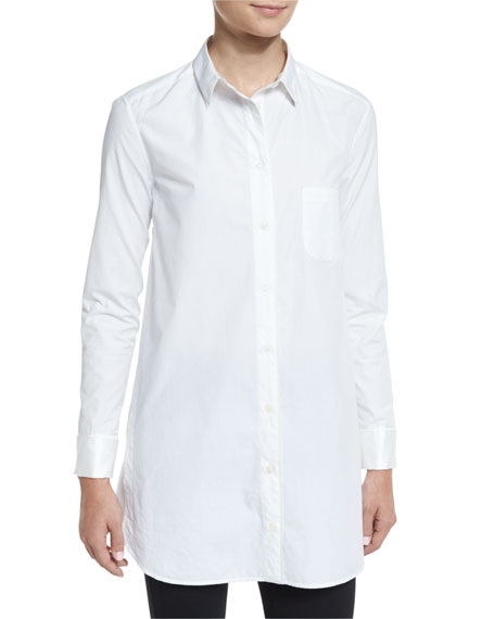 Cheap Sale Best Rag & Bone Woman Poplin Shirt White Size S Rag & Bone Discount Reliable Clearance Fashion Style High Quality Buy Online 3m7b8