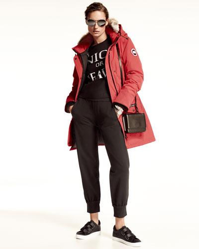 Canada Goose kids replica shop - CANADA GOOSE Trillium Fur-Hood Parka Jacket