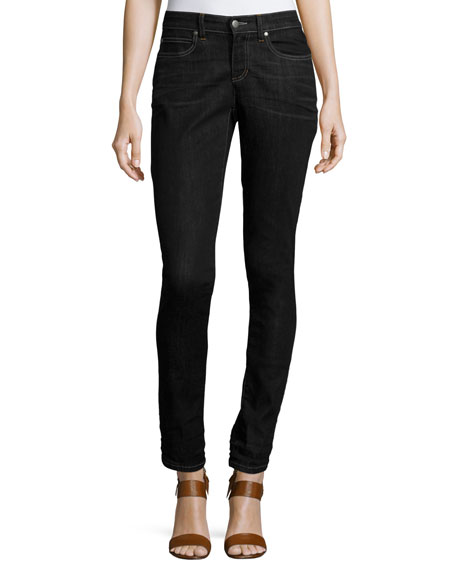 Eileen Fisher Stretch Skinny Jeans, Vintage Black, Plus