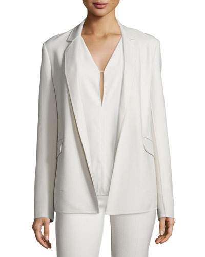 Sedeia LS2 Saxton Open-Front Blazer, Pearl Ivory Onsale