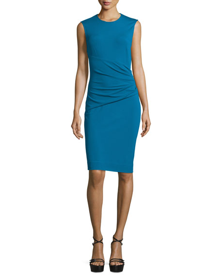 Diane von Furstenberg Glennie Wrap-Waist Sheath Dress