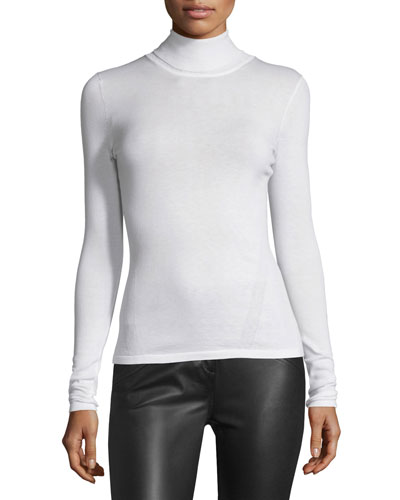 Jelena Turtleneck Sweater, Ivory