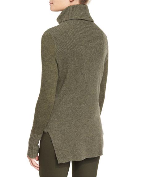 Asa Ribbed Cashmere Turtleneck Sweater