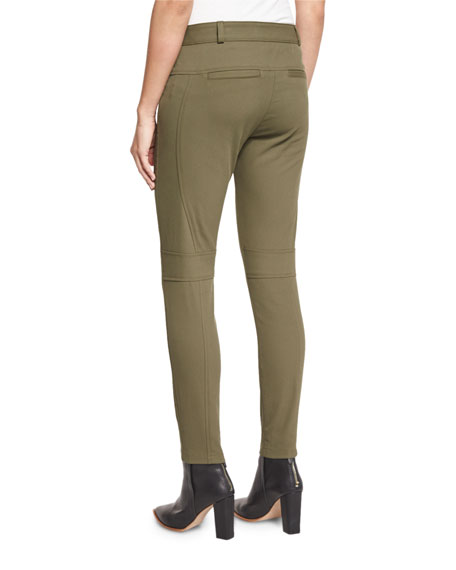 Blossom Biker Pants, Army Green