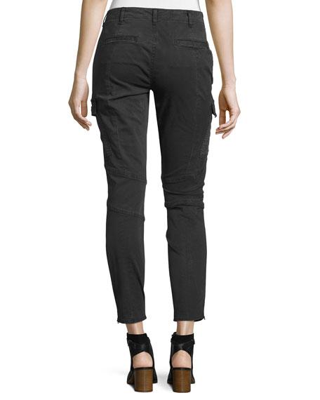 J Brand Houlihan Skinny Cargo Ankle Pants, Dark Gray