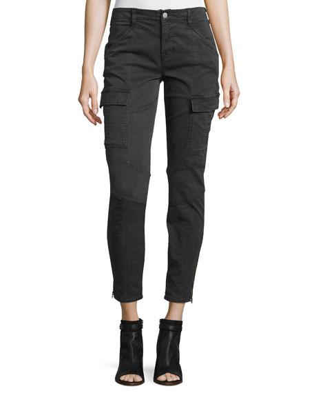 J Brand Houlihan Skinny Cargo Ankle Pants, Dark