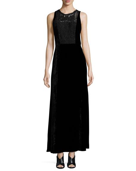 Black Velvet Dress - Neiman Marcus