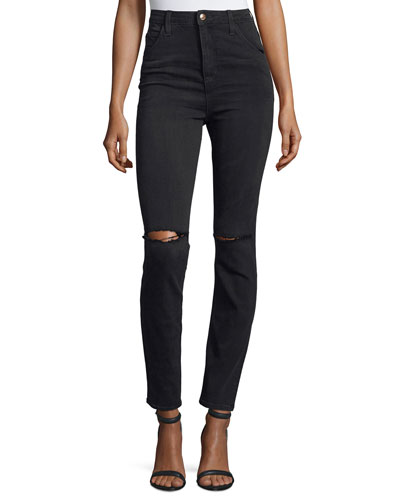 The Bella Skinny Distressed Jeans, Emilie