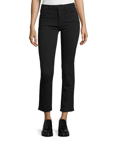 Le High Straight-leg Jeans - Dark denim Frame Denim zBlvgylV5