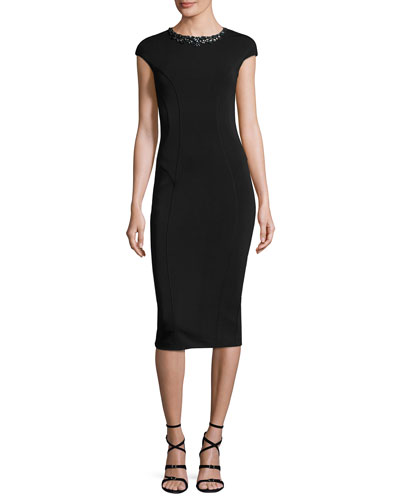 Dardee Embellished Bodycon Dress