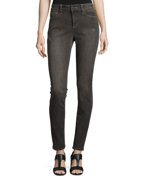NYDJ Ami Distressed Super-Skinny Jeans, Dorchester