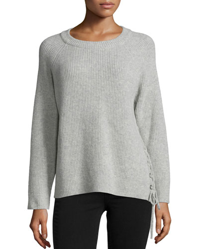 Minus Wool/Cashmere-Blend Ribbed Sweater